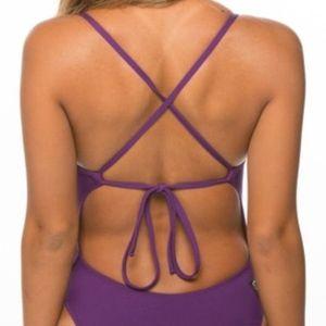 Jolyn Jackson II Tie-Back Onesie